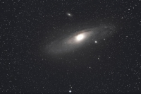 M31 Andromeda Galaxie am 19.9.2012