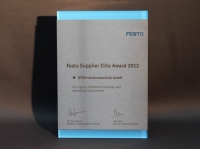 Festo Supplier Elite Award 2012
