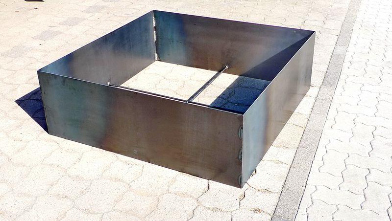 Hochbeet Aus 3mm Verzundertem Stahl