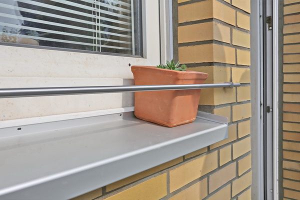 Beliebt Bevorzugt Blumenkastenhalterung für die Fensterbank aus 12 mm Edelstahl... #JX_72