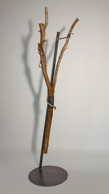 Baum Garderobe Mit Stahlständer