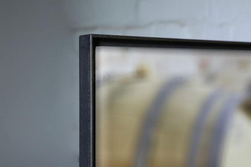 rahmen aus zunderstahl f r einen keilrahmen. Black Bedroom Furniture Sets. Home Design Ideas