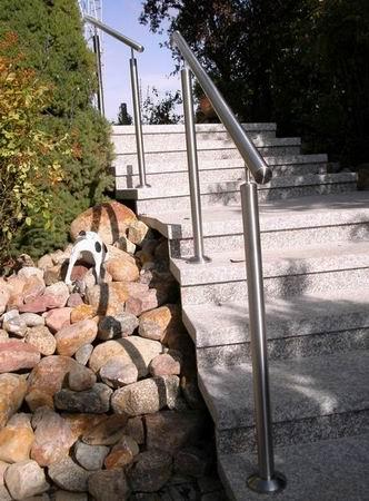 Beleuchtung Geländer | Edelstahlgelander Mit Integrierter Led Beleuchtung Im Handlauf