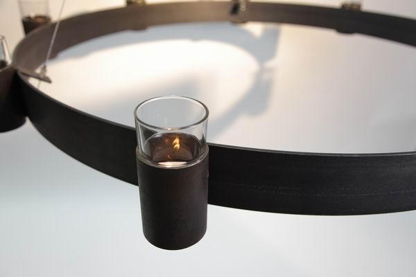 Kronleuchter Für Teelichter ~ Kronleuchter mit stahlseilaufhängung