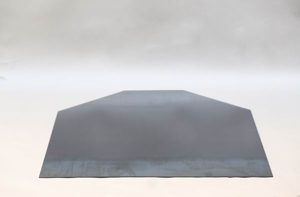bodenblech aus 3 mm stahlblech f r eine ecke. Black Bedroom Furniture Sets. Home Design Ideas