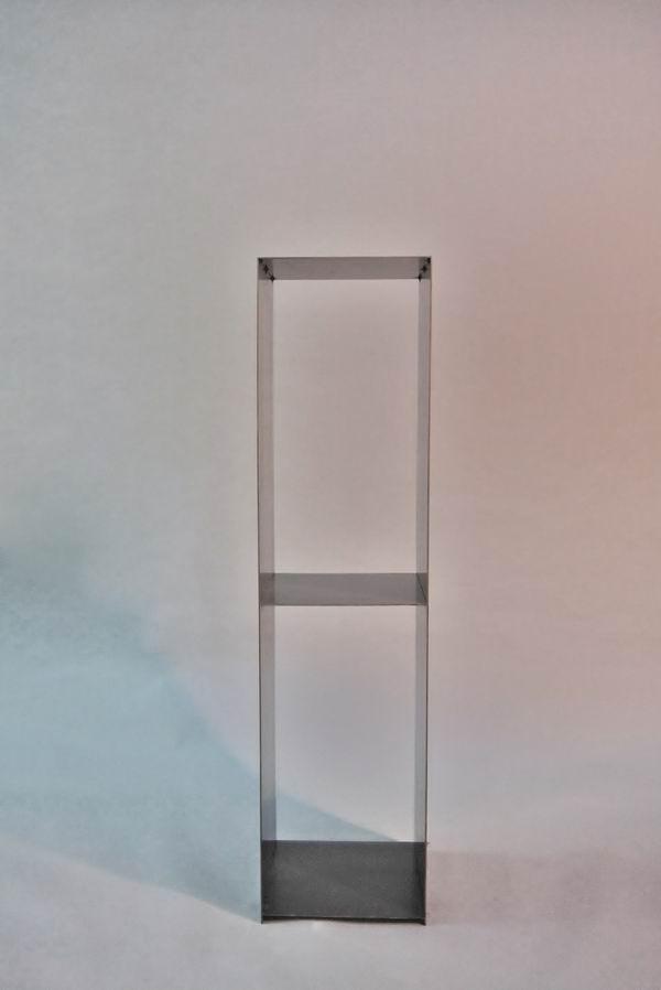 kaminholz regal aus 3 mm stahl mit r ckwand. Black Bedroom Furniture Sets. Home Design Ideas