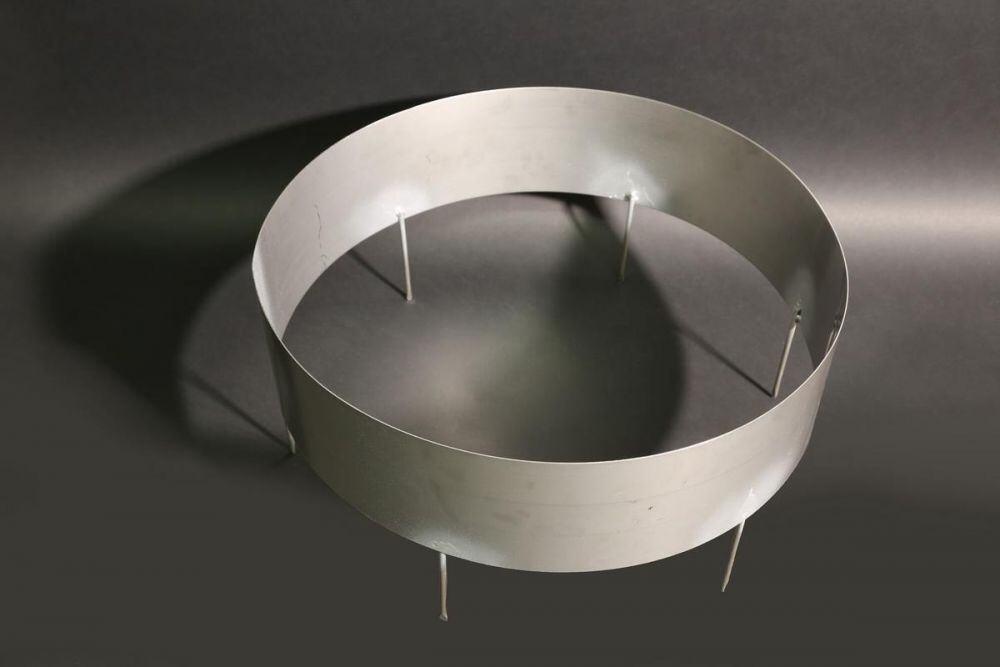 pflanzring aus 1mm edelstahlblech. Black Bedroom Furniture Sets. Home Design Ideas
