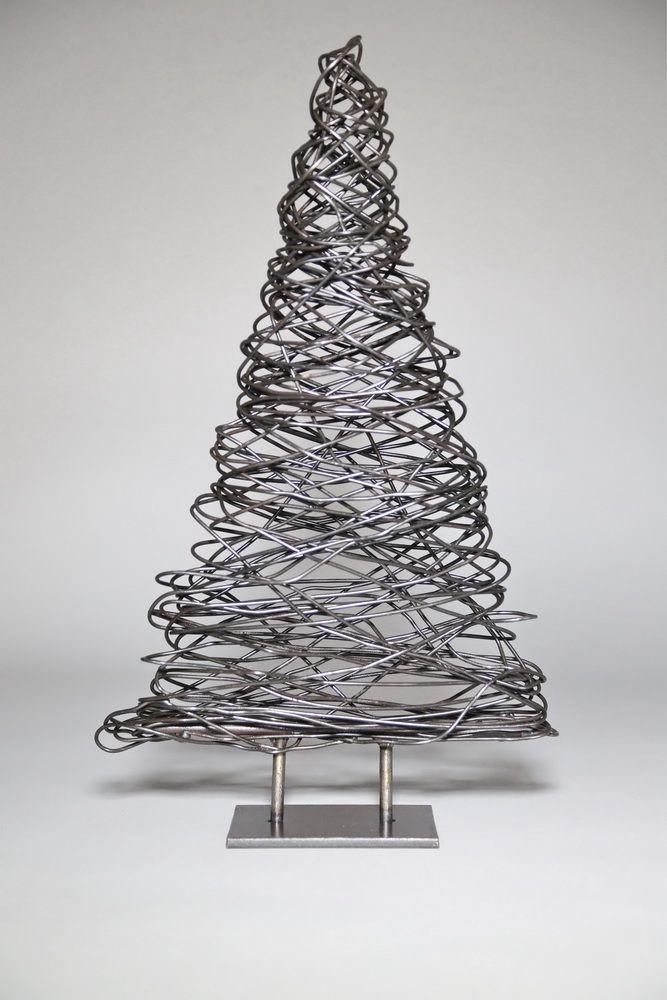 Tannenbaum Aus Blech.Kleiner Tannenbaum Aus 2mm Eisen Draht