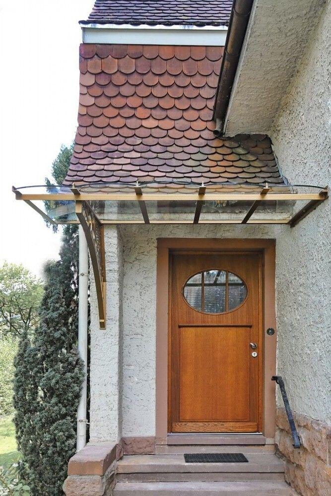 Beliebt Vordach für ein denkmalgeschütztes Haus HS82