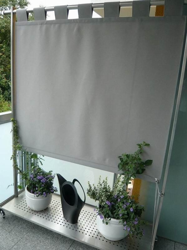 windschutz und paravent f r den aussenbereich. Black Bedroom Furniture Sets. Home Design Ideas