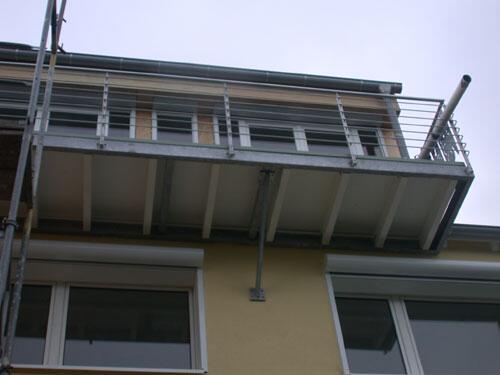 Balkon Und Balkongelander Aus Stahl Und Edelstahl
