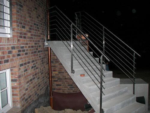 Relativ Treppengeländer und Balkon aus Edelstahl -... VA39