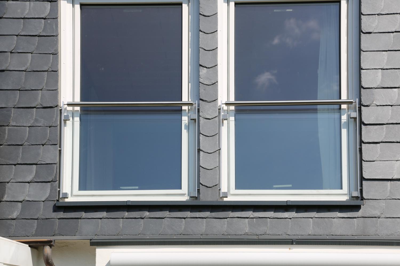 Französische Balkone Aus Edelstahl Und Sicherheitsglas