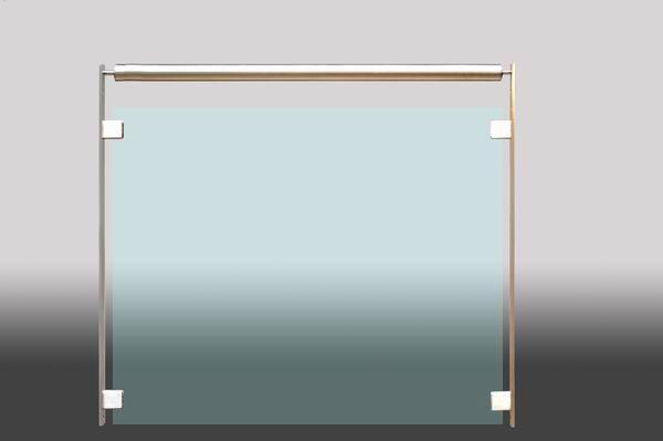 Franzosischer Balkon Aus Edelstahl Flachmaterial Und
