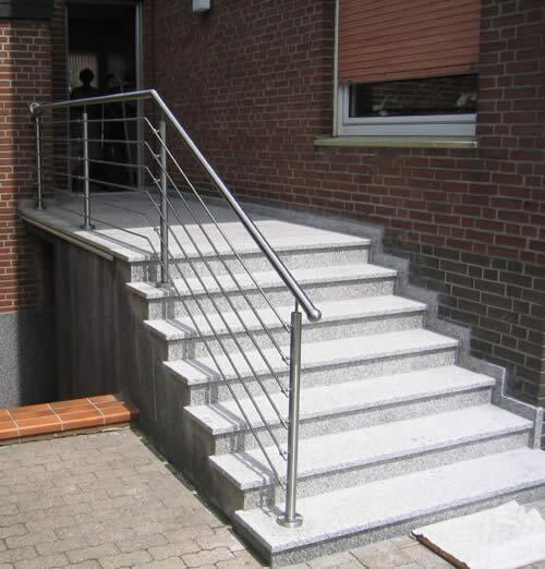 Treppen Gelander Aus Edelstahl