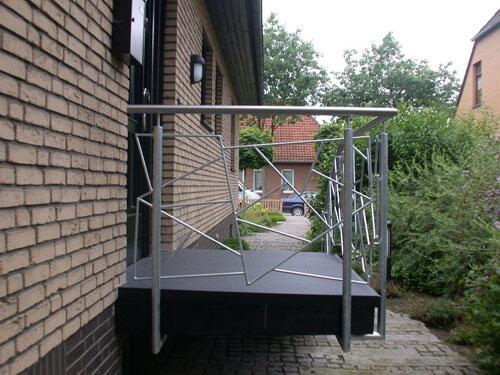 treppengel nder aus verzinktem stahl und edelstahl. Black Bedroom Furniture Sets. Home Design Ideas