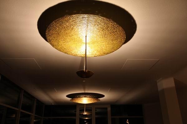 Weitere Bilder. Kronleuchter, Aluminiumdraht Geschweißt Und Vergoldet,  Durchmesser 120 Cm
