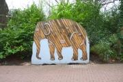 Sponsoren Elefant für den Zoo in Hannover