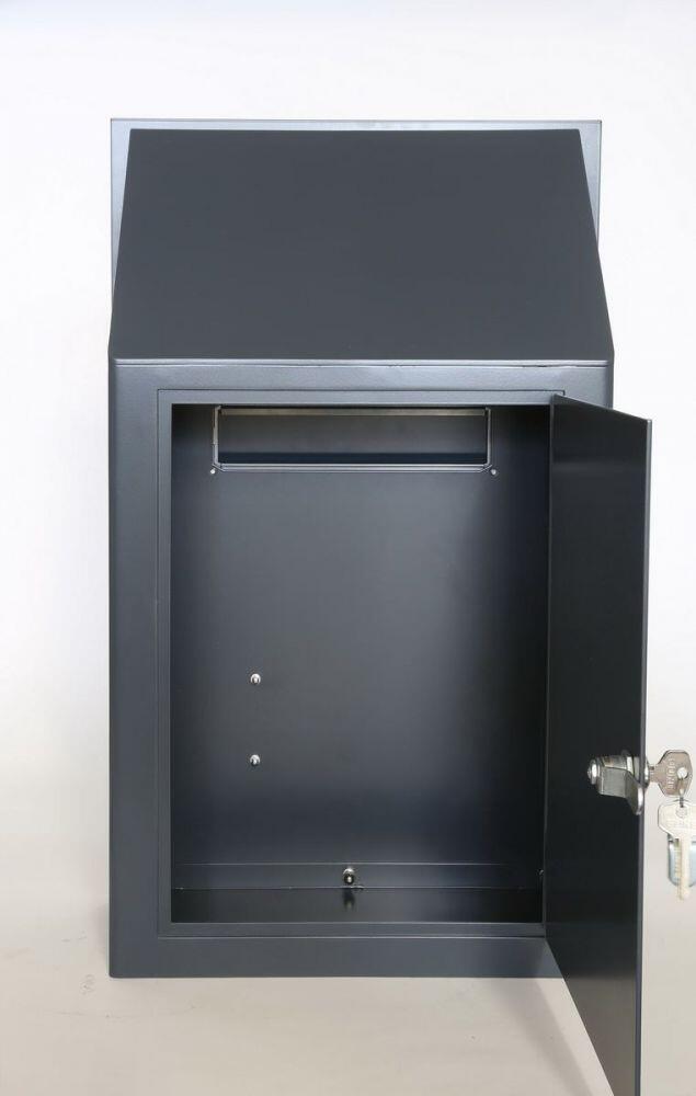 briefkastenanlage und blende f r f r einen bestandszaun. Black Bedroom Furniture Sets. Home Design Ideas