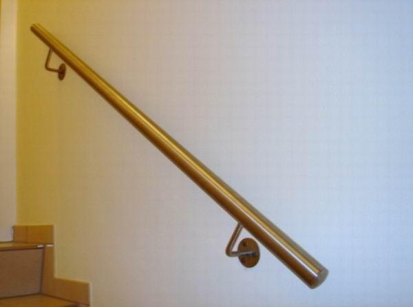 Handlauf Treppe treppen handlauf aus edelstahl