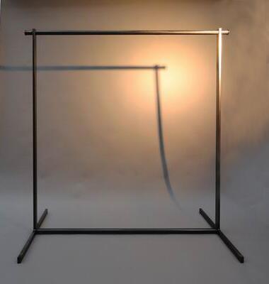 schraubbare garderobe aus stahl. Black Bedroom Furniture Sets. Home Design Ideas