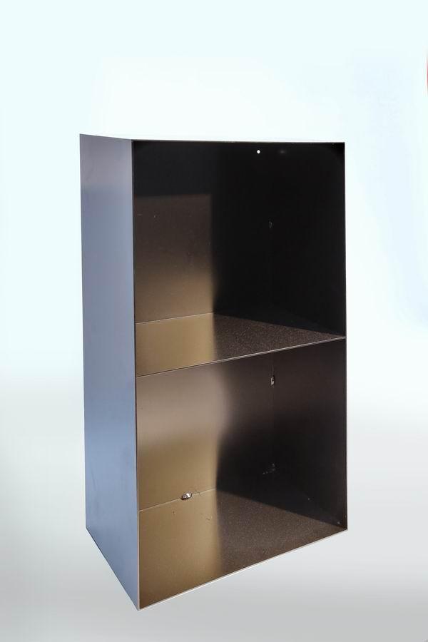 regal aus stahl f r kaminholz. Black Bedroom Furniture Sets. Home Design Ideas