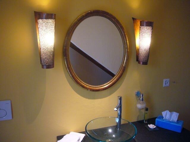 kugelleuchte aus kupfer durchmesser 80 cm. Black Bedroom Furniture Sets. Home Design Ideas