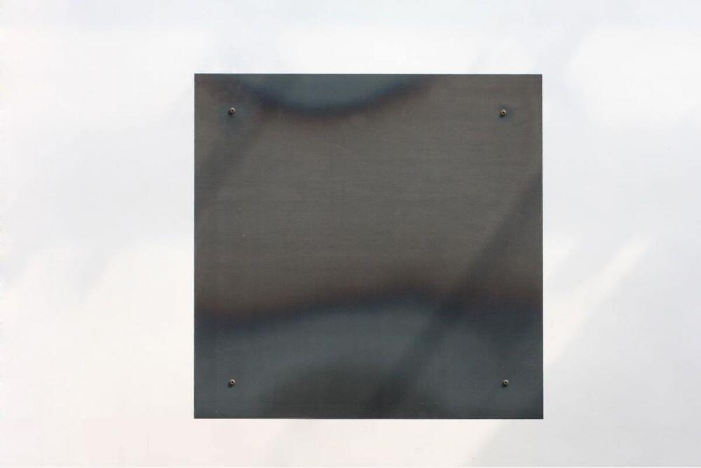 magnet pinnwand aus zunderstahl mit klarlack lackiert. Black Bedroom Furniture Sets. Home Design Ideas