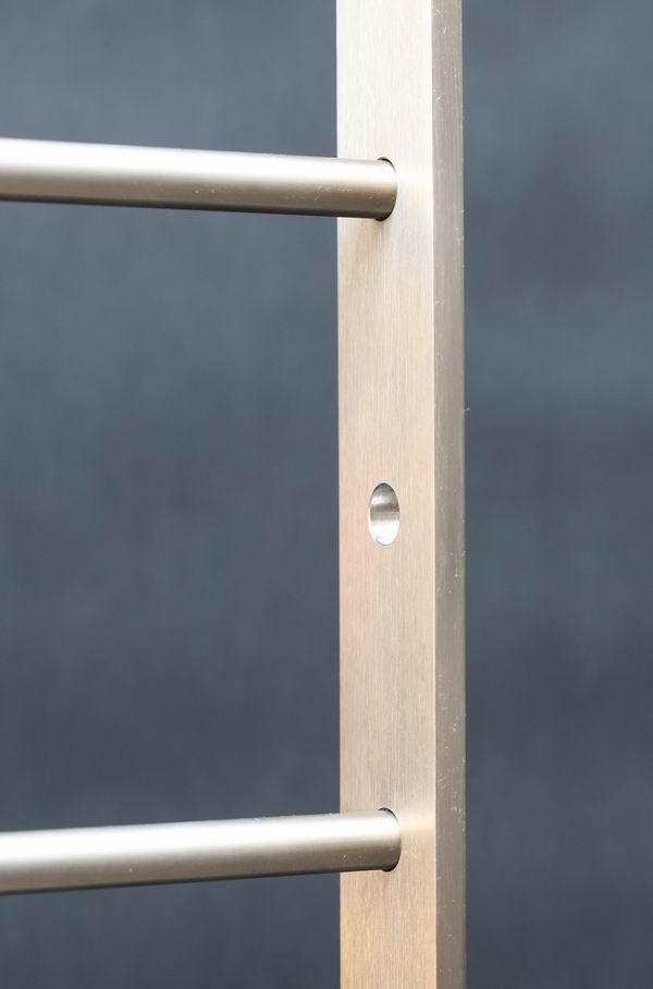 franz balkongel nder aus edelstahl mit 6 relingst ben. Black Bedroom Furniture Sets. Home Design Ideas