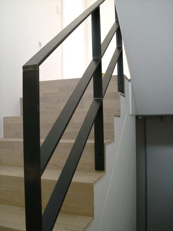 treppengel nder aus 12 x 60 mm zunderstahl in wolfsburg. Black Bedroom Furniture Sets. Home Design Ideas