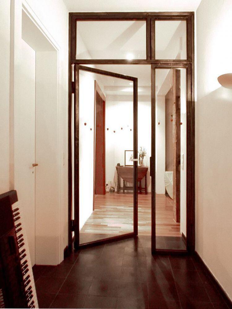 glas trennwand. Black Bedroom Furniture Sets. Home Design Ideas