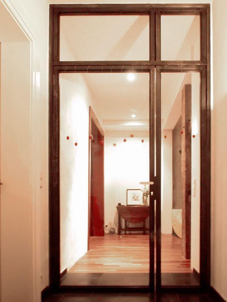 Glas trennwand - Glastrennwand wohnbereich ...