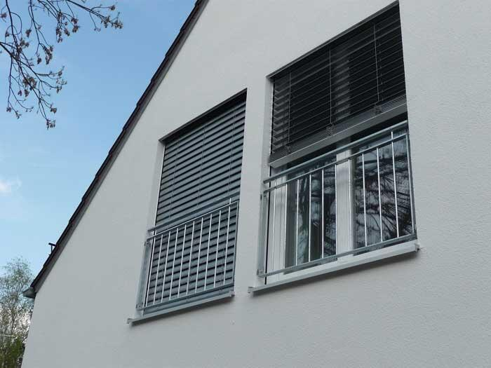franz sischer balkon aus verzinktem stahl. Black Bedroom Furniture Sets. Home Design Ideas