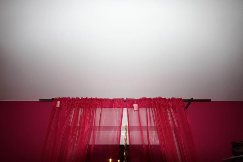 gardinenstange aus 21 3mm stahlrohr. Black Bedroom Furniture Sets. Home Design Ideas