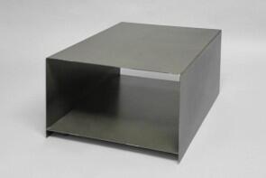drucker tisch aus 3 mm zunderstahl. Black Bedroom Furniture Sets. Home Design Ideas