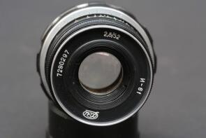 52 mm Objektiv, f:2,8 made in USSR