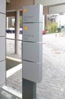 Wegeleitsystem für Mathai