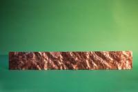 geschmiedetes Zierblech aus Kupfer