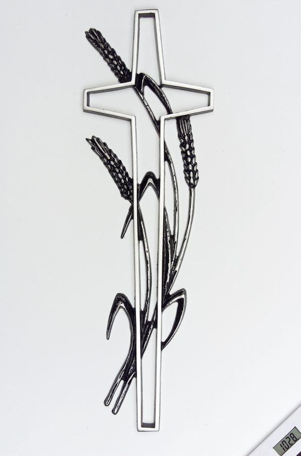 grabkreuz mit einer korn hre. Black Bedroom Furniture Sets. Home Design Ideas