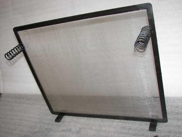 Funkenschutzgitter aus Stahl und Edelstahlgaze