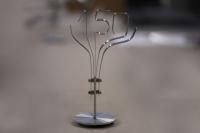 150 Jahre Volksbank Seesen - 150 kleine Skulpturen aus Aluminium