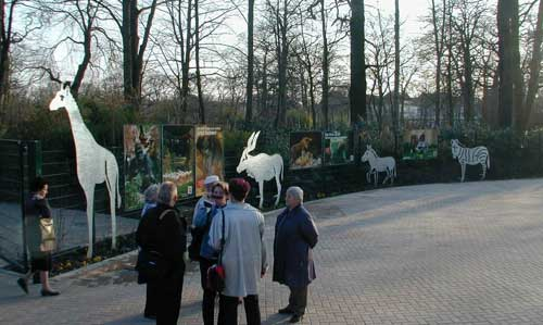 Eingangsanlage Zoo Hannover
