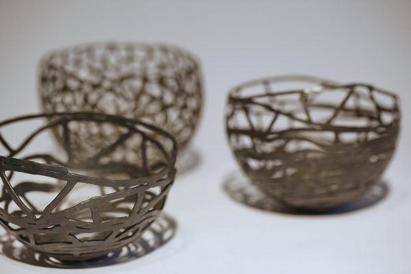 Schalenobjekte von Peter Schmitz