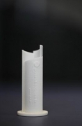 zwei Modelle für eine Throphäe im 3 D Druck