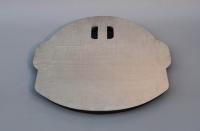 Pumpenschacht-Abdeckung aus Corten Stahl