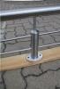 Absturz Sicherung aus Edelstahl, Preis per laufenden Meter