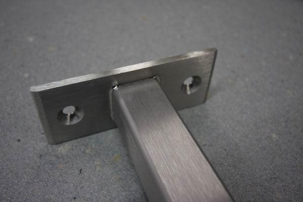 absturzsicherung aus edelstahl quadratrohr preis pro laufenden meter. Black Bedroom Furniture Sets. Home Design Ideas