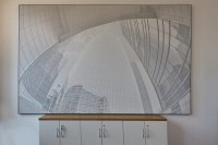 wandhängende, individuell bedruckte  Akustik Panele