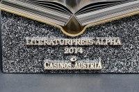 Literaturpreis Alpha 2104 der Casinos Austria Gruppe
