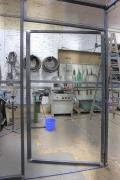 Anbau aus Corten Stahl